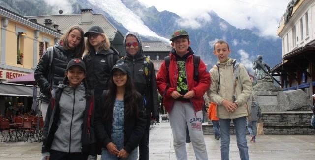 Mardi 25 juillet : journée à Chamonix