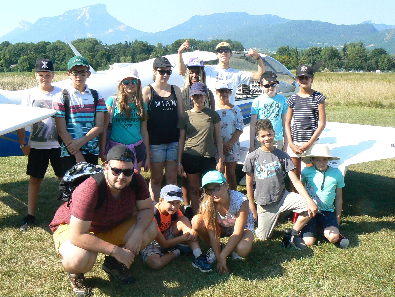 Mardi 31 juillet: aérodrome, baignade et barbecue musical