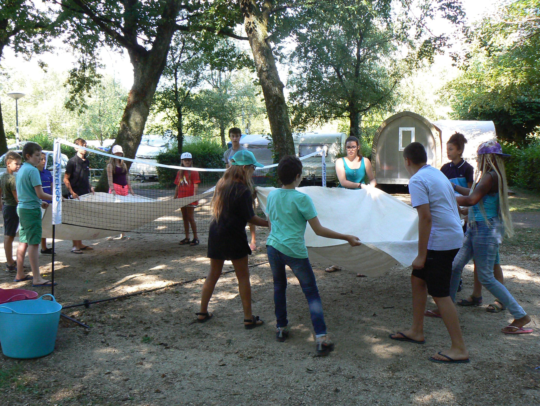 Mercredi 1er août : water volley, escape room et baignade, petite pluie pour finir