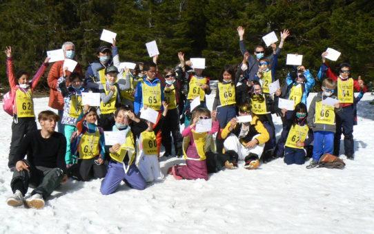 31 mars: dernière sortie neige et médailles !