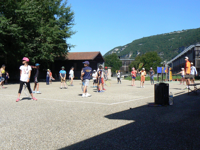 Le jeudi à Mantua, c'est fit-tennis, ballade en ville et grosse veillée
