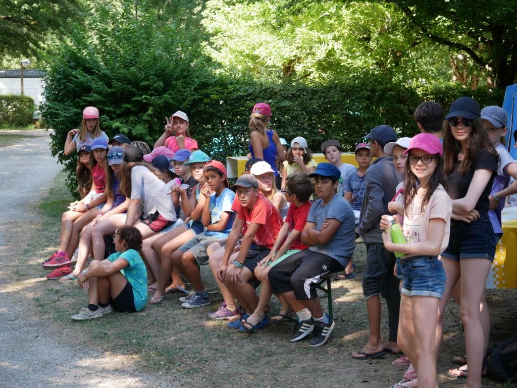 Semaine de camps à Culoz (soleil, moustiques et «on est en finale !!!)