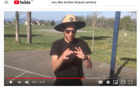 Claude Vaillot sur Youtube !