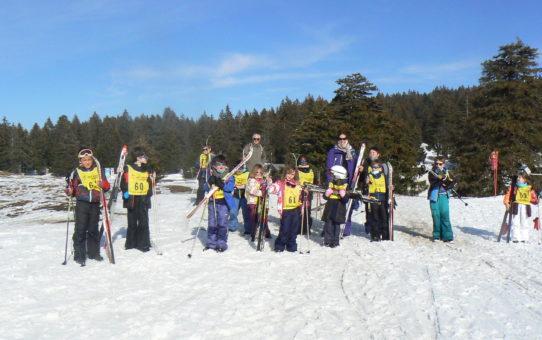 mercredi 10 mars, côté ski de fond