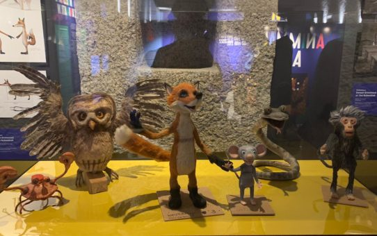Visite au musée du film d'animation